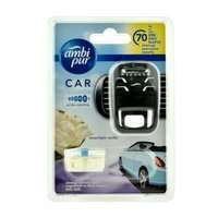 Ambi Pur Car zapach samochodowy Moonlight Wanilia - zestaw