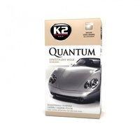 K2 Quantum syntetyczny wosk do długotrwałej ochrony 140g + mikrofibra