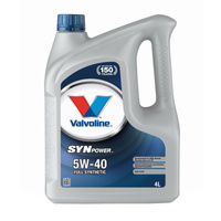 Olej silnikowy Valvoline SynPower 5W/40 4L