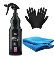 Zestaw: ADBL QD1 syntetyczny Quick Detailer 1L + mikrofibra i rękawiczki