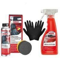 Zestaw: Sonax do czyszczenia i impregnacji dachów w kabrioletach + rękawiczki