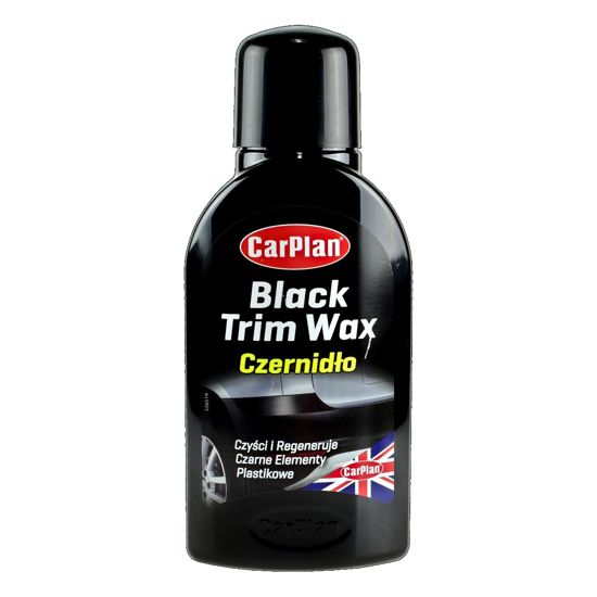 CarPlan Black Trim Wax czernidło do plastików 375ml