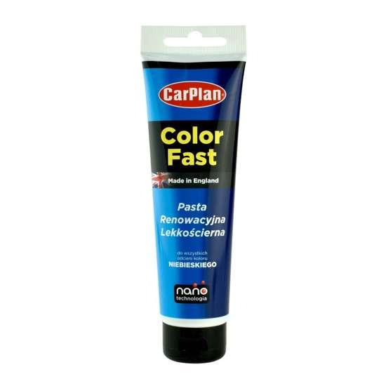 CarPlan T-CUT Color Fast - Nano pasta koloryzująca do usuwania rys Niebieska 150g