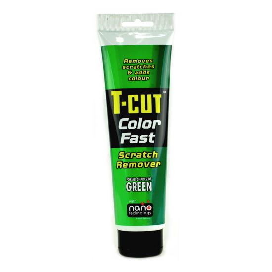 CarPlan T-CUT Color Fast - Nano pasta koloryzująca do usuwania rys Zielona 150g