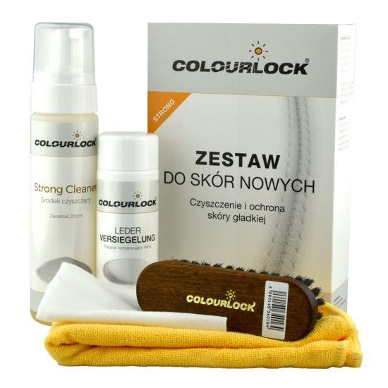 Colourlock zestaw do czyszczenia skóry Strong