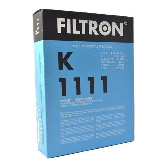 FILTRON filtr kabinowy K1111 - Audi A3 II 05.2003-,Seat Altea Toledo III 04.04- Skoda Octavia I