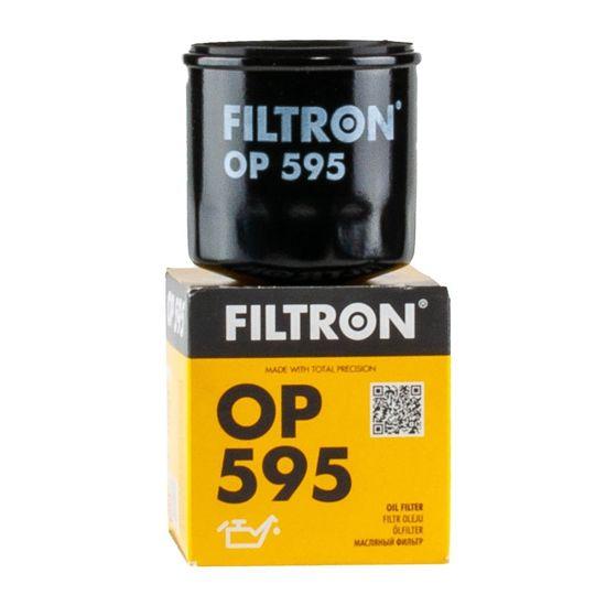 FILTRON filtr oleju OP595 - Mazda, Subaru 323 1.3 16V, 1.5i, 1.8,1.