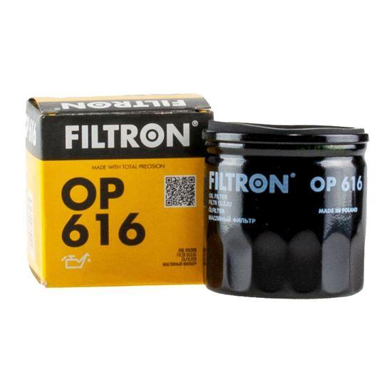 FILTRON filtr oleju OP616 - Audi, VW Golf III 1.4CL, łańcuch