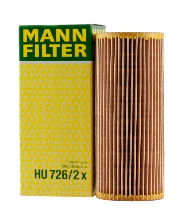 Filtr oleju Mann HU726/2x - Audi/Vw/Seat/Skoda 1.9 TDI/SDI