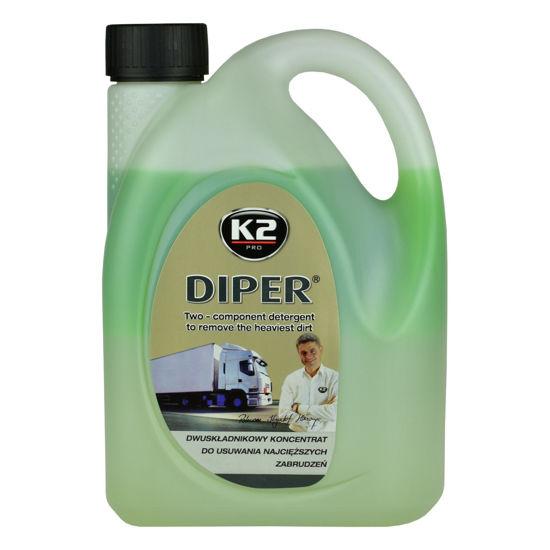 K2 Diper piana aktywna do mycia pojazów ciężarowych 2kg