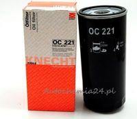 Knecht filtr oleju OC221 - Audi 80 1,9 TDi 91->