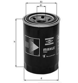 Knecht filtr oleju OC223 - Renault Diesel, Jeep Cherokee 2,1TD/4,0 88-