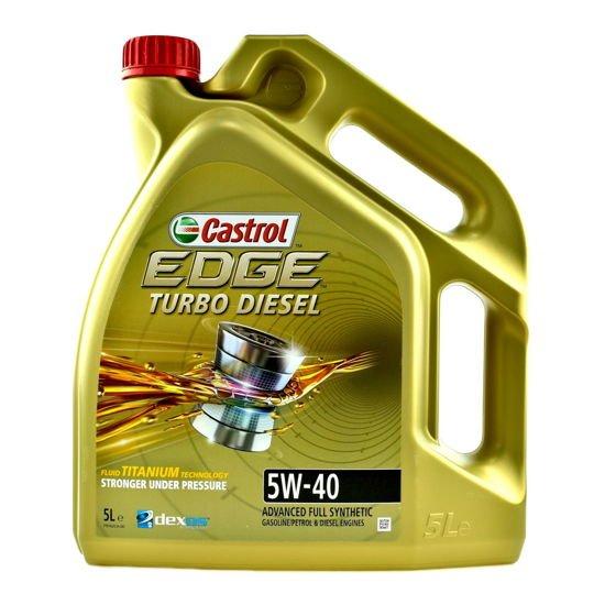 Olej silnikowy Castrol Edge Turbo Diesel Titanium FST 5W/40 5L