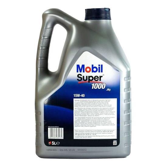Olej silnikowy Mobil Super 1000 15W/40 5L