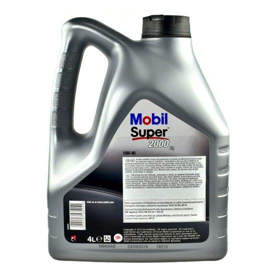Olej silnikowy Mobil Super Premium 2000 X1 10W/40 4L