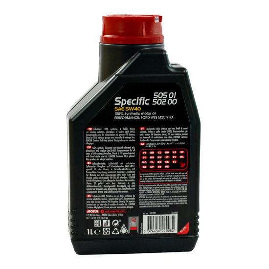 Olej silnikowy Motul Specific 505.01/502.00 5W/40  1L