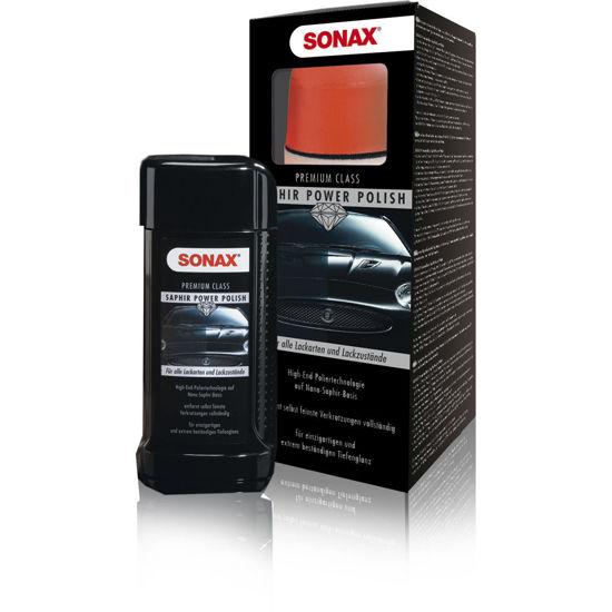 Sonax Premium Class Saphir Power Polish - profesjonalny zestaw do polerowania  lakieru