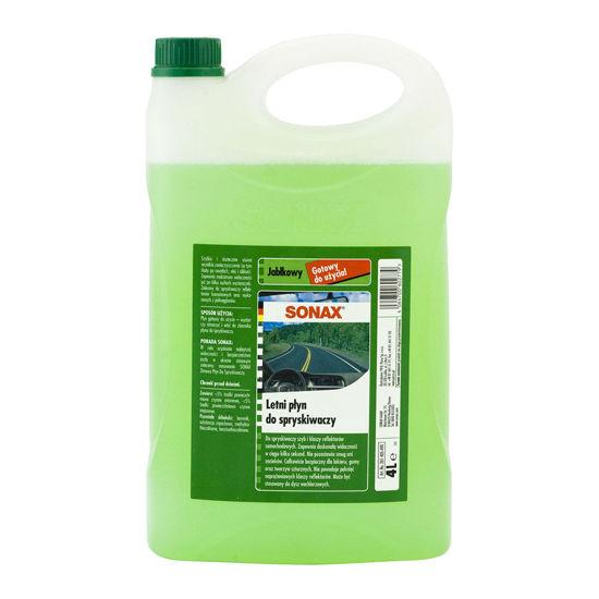 Sonax gotowy letni płyn do spryskiwaczy - Jabłkowy 4L